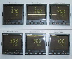 PID controllers in rack